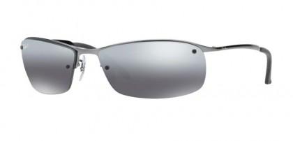 Ray-Ban 0RB3183 RB3183 004/82 Gunmetal - Polarized Grey Mirror Silver Gradient