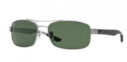 Ray-Ban 0RB8316 004 Gunmetal - Crystal Green