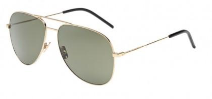 Saint Laurent CLASSIC 11-008 Gold Gold - Shiny Green