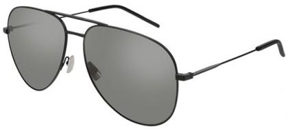 Saint Laurent CLASSIC 11-029 Black Black - Matte Silver