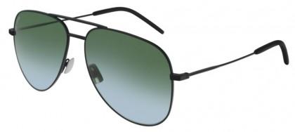 Saint Laurent CLASSIC 11-042 Black - Green Gradient