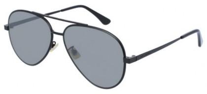 Saint Laurent CLASSIC 11 ZERO-003 Black Black - Matte Silver