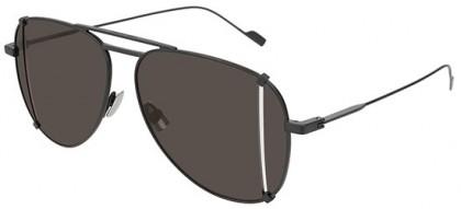 Saint Laurent SL 193 T CUT-002 Black Black - Matte Grey