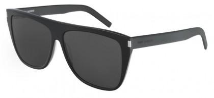 Saint Laurent SL 1 SLIM-001 Black - Grey