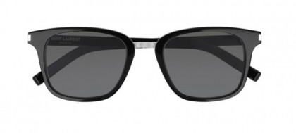 Saint Laurent SL 341-001 Black - Silver Shiny