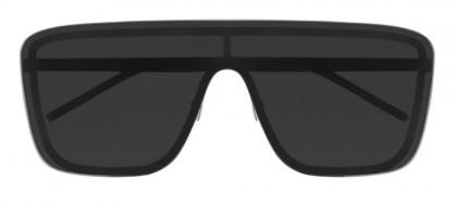 Saint Laurent SL 364 MASK-002 Black - Black Matte