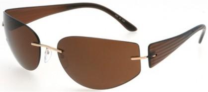 Silhouette 8102 6129 Brown - Brown Polarized