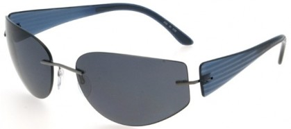 Silhouette 8102 6130 Avio - Grey Polarized