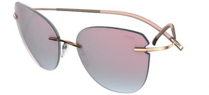 Silhouette 8156 TMA Icon 6251 Gold - Grey Pink Mirror