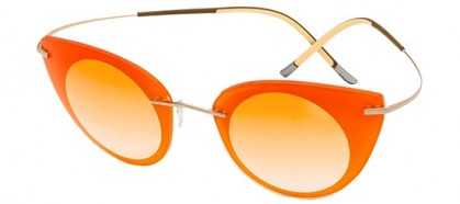 Silhouette FELDER FELDER 9907 6051 Orange Shaded Gold - Light Orange