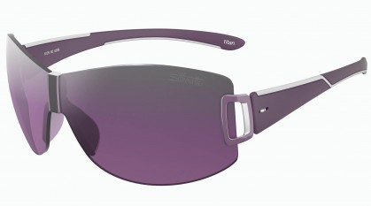 Silhouette SILHOUETTE 8129/S 6209 Ruthenium Purple -Grey Pink Shaded