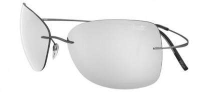 Silhouette TMA ULTRA THIN 8147 6233 Dark Silver - Light Grey Mirror