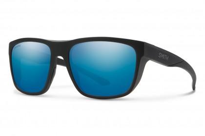 Smith BARRA 003/QG Matte Black - Blue Grey Mirror