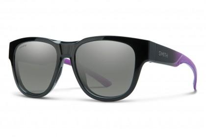 Smith ROUNDER 2JK/XB Violet Black - Silver