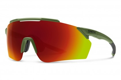Smith RUCKUS SIF/X6 Olive Matte Green Crystal - Red Multilayer
