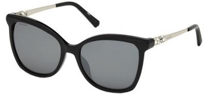 Swarovski SK0154-H 01C Shiny Black - Grey