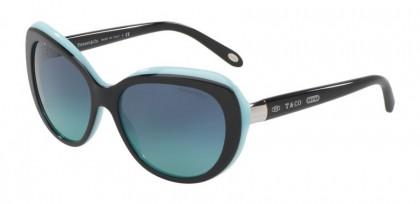 Tiffany 0TF4122 80559S Black Blue - Blue Gradient