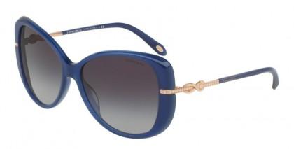 Tiffany 0TF4126B 81923C Opal Blue - Grey Gradient