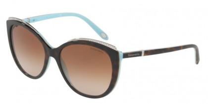 Tiffany 0TF4134B 81343B Havana Blue - Brown Gradient
