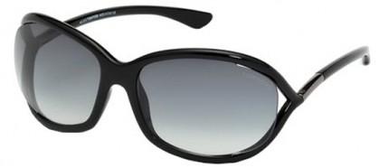 Tom Ford FT0008 01B Black - Grey Shaded