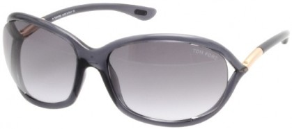 Tom Ford FT0008 0B5 Dark Grey - Dark Grey Shaded