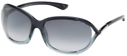 Tom Ford FT0008 20B Dark Grey Shaded Grey - Dark Grey Shaded