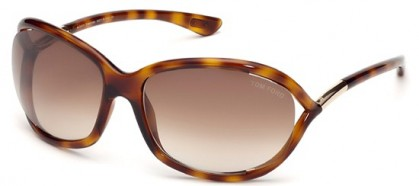 Tom Ford FT0008 52F Havana - Brown Shaded