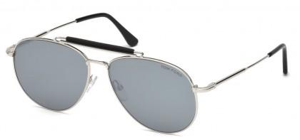 Tom Ford FT0536 SEAN 16C Shiny Palladium - Grey Mirror Silver