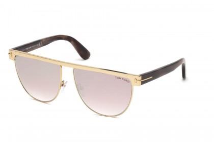 Tom Ford FT0570 STEPHANIE-02 28Z Shiny Rose Gold - Light Pink
