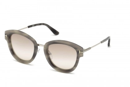 Tom Ford FT0574 MIA-02 55G Grey Havana - Light Brown