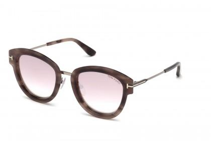 Tom Ford FT0574 MIA-02 55Z Havana - Light Pink
