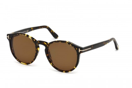 Tom Ford FT0591 IAN-02 52M Blonde Havana - Brown Polarized