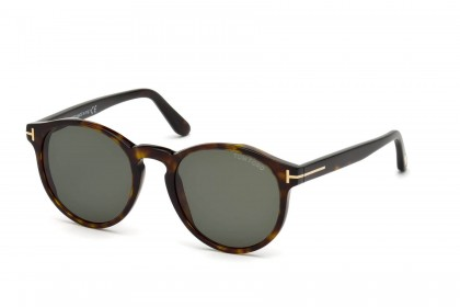 Tom Ford FT0591 IAN-02 52N Dark Havana - Green