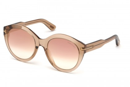 Tom Ford FT0661 ROSANNA 45G Light Brown - Brown Shaded