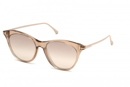 Tom Ford FT0662 MICAELA 45G Light Brown - Brown Shaded