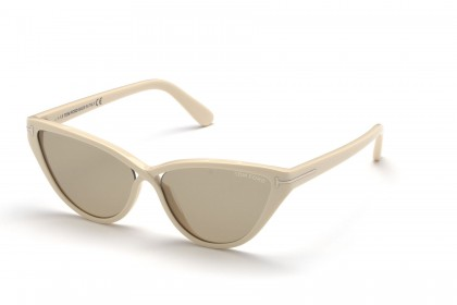 Tom Ford FT0740 CHARLIE-02 25E Ivory - Brown