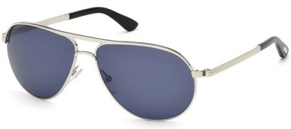 Tom Ford FT0144 18V Silver - Blue