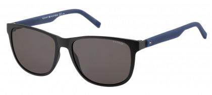 Tommy Hilfiger TH 1403/S R5Y/NR Matte Black Blue - Brown Grey