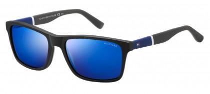 Tommy Hilfiger TH 1405/S FMV/XT Grey Dark Blue - Grey Blue
