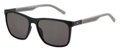 Tommy Hilfiger TH 1445/S L7A (NR) Black Grey - Brown Grey