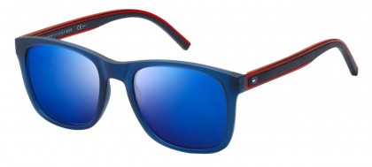 Tommy Hilfiger TH 1493/S PJP/XT Transaprent Blue Red Blue - Grey Blue
