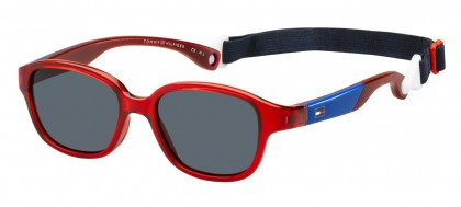 Tommy Hilfiger TH 1499/S C9A/IR Transparent Red Blue - Grey