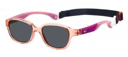 Tommy Hilfiger TH 1499/S S8R/IR Transaprent Light Pink Fuchsia - Grey
