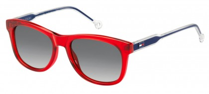 Tommy Hilfiger TH 1501/S C9A/9O Transparent Red Blue - Grey Shaded