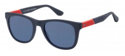 Tommy Hilfiger TH 1559/S FLL/KU Matte Blue - Blue