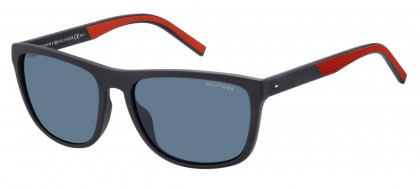 Tommy Hilfiger TH 1602/G/S IPQ/KU Matte Blue - Blue