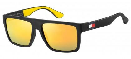 Tommy Hilfiger TH 1605/S 71C/SQ Black Yellow - Gold