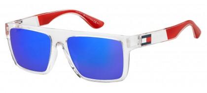 Tommy Hilfiger TH 1605/S QM4/Z0 Crystal Red - Blue