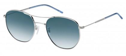 Tommy Hilfiger TH 1619/G/S 010/08 Palladium - Blue Shaded