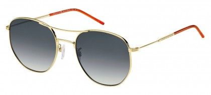 Tommy Hilfiger TH 1619/G/S J5G/9O Gold - Grey Shaded